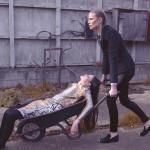 Sorapol C Lumiere in woman's fashion in London location