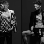 men's fashion in studio