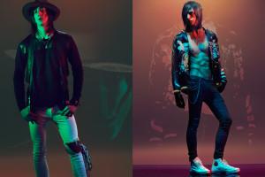 men's fashion in studio