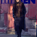 men's fashion location in London for Elle Men Thailand